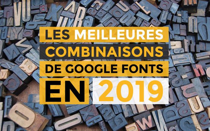 18 magnifiques combinaisons (avec exemples!) de Google fonts en 2021